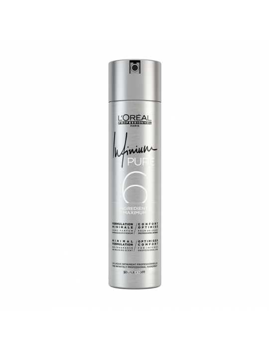 Lacca infinium pure 6 souple 300ml - l'oréal professionel