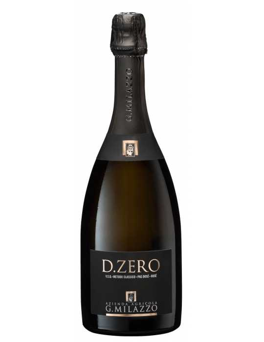 Milazzo D.zero – Pas Dosé Rosé Spumante Metodo Classico 750 ml